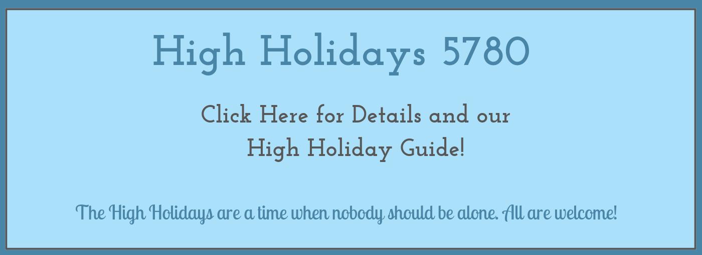 High Holiday Slider -2019