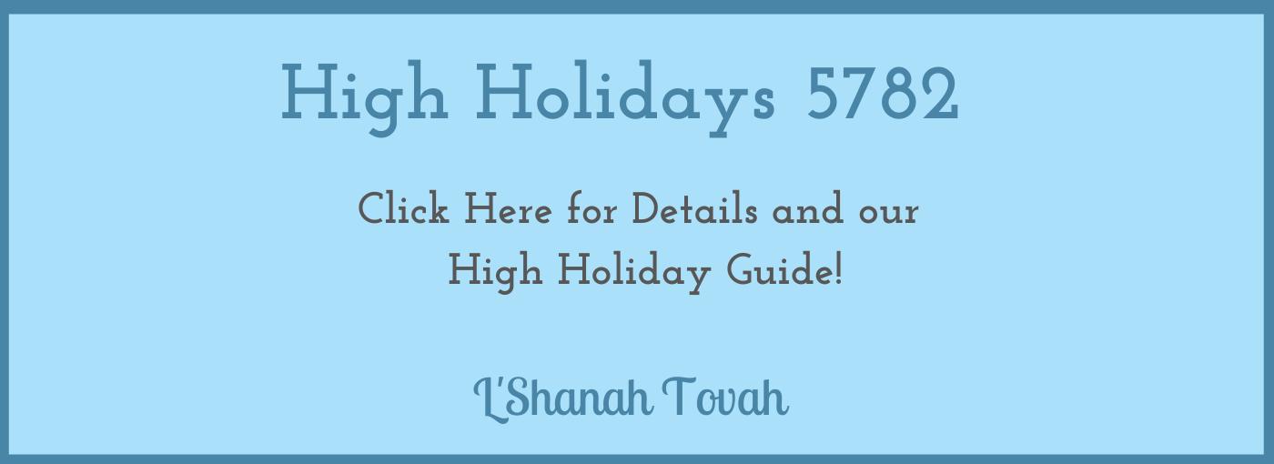 High Holiday Slider -2021